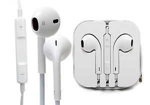 Earphones Headphones With Remote, Mic & Volume Controls For Apple iPad iPhone 5