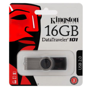 16GB KINGSTON DATA TRAVELER 101 USB 2.0 FLASH DRIVE MEMORY STICK 16 GB