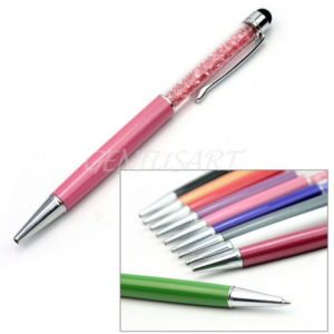 High Sensitive Silver 2in1 Stylus & Ballpoint Pen for Tablet, IPAD & Touch