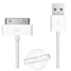 Apple iPhone 4S 4 3GS  USB charging cable 100% Original