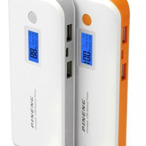PINENG PN-968 10000mAh Power Bank External Battery LCD Display for iPhone iPad Samsung