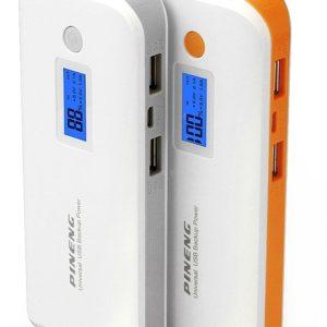 PINENG PN-968 10000mAh Power Bank External Battery LCD Display for iPhone iPad Samsung