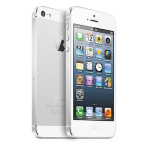 Apple iPhone 5 16 GB White & Silver (Unlocked) perfect grade A