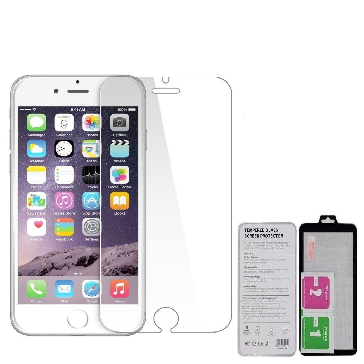 separation shoes d0bc8 6dfd9 iPhone 6+/6s+ Tempered Glass Screen protector