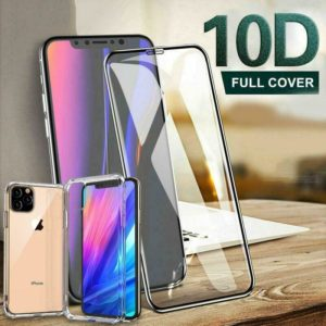 Screen Protector for iPhone X XR,XS,11 Pro MAX FULL TEMPERED GLASS