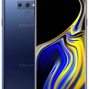 Samsung Galaxy Note 9 – 128GB – Unlocked SIM Free Midnight Black / Ocean Blue